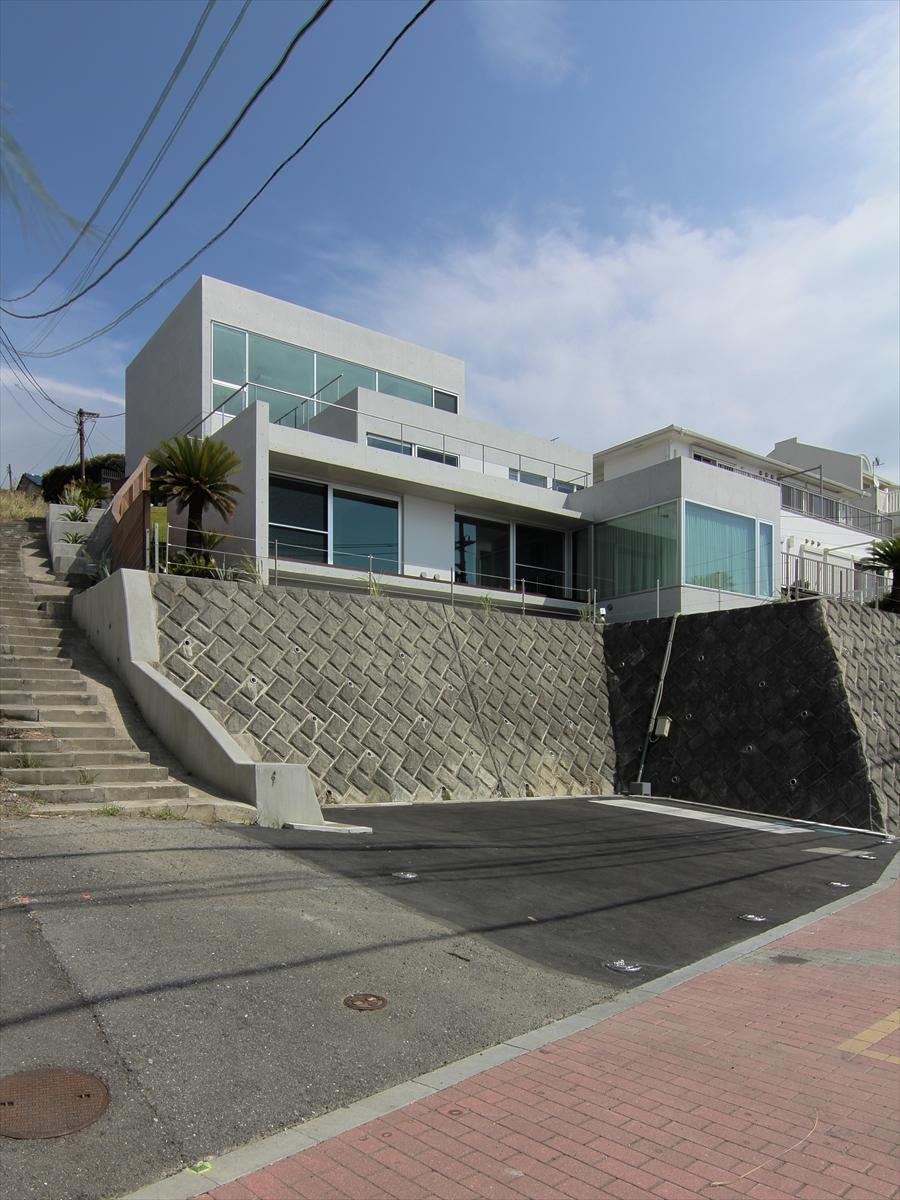 秋谷・海の家