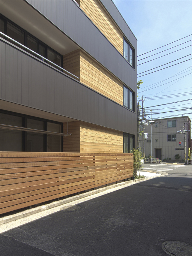 末吉大通りの家、完成写真アップしました。
